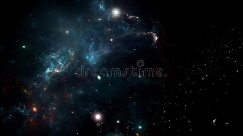 Планеты и галактика, космос, физическая космология стоковые фотографии rf