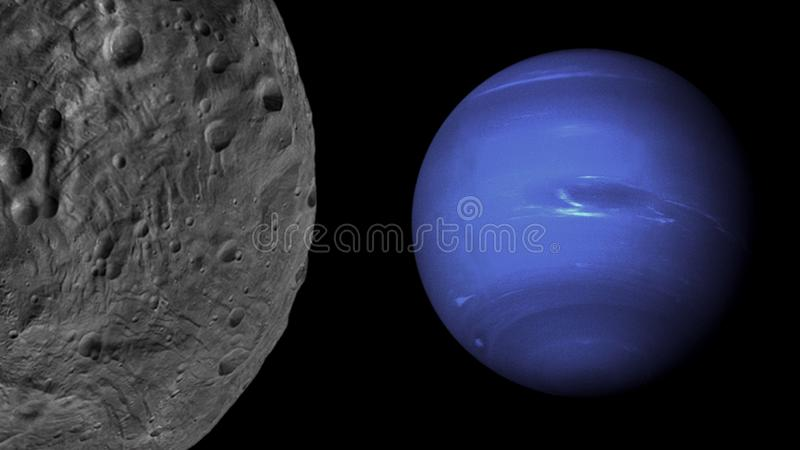 Планеты и галактика, обои научной фантастики Красота глубокого космоса стоковые фотографии rf