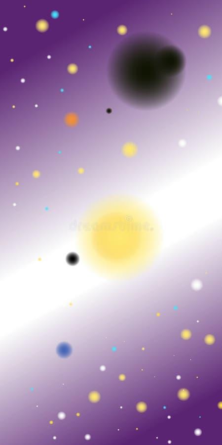 Планеты и звезды стоковое фото rf