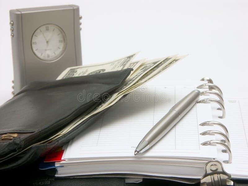 планировать расходований стоковое фото