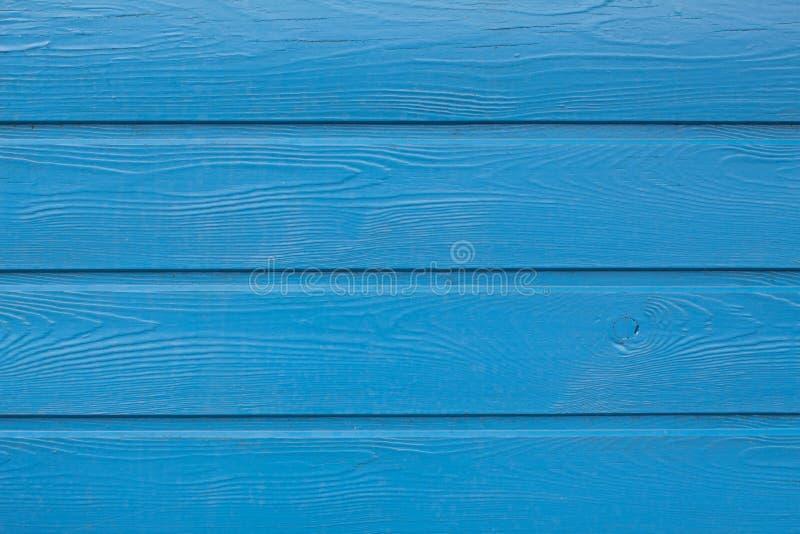 Планки покрашенные синью деревянные Космос для текста стоковое изображение rf