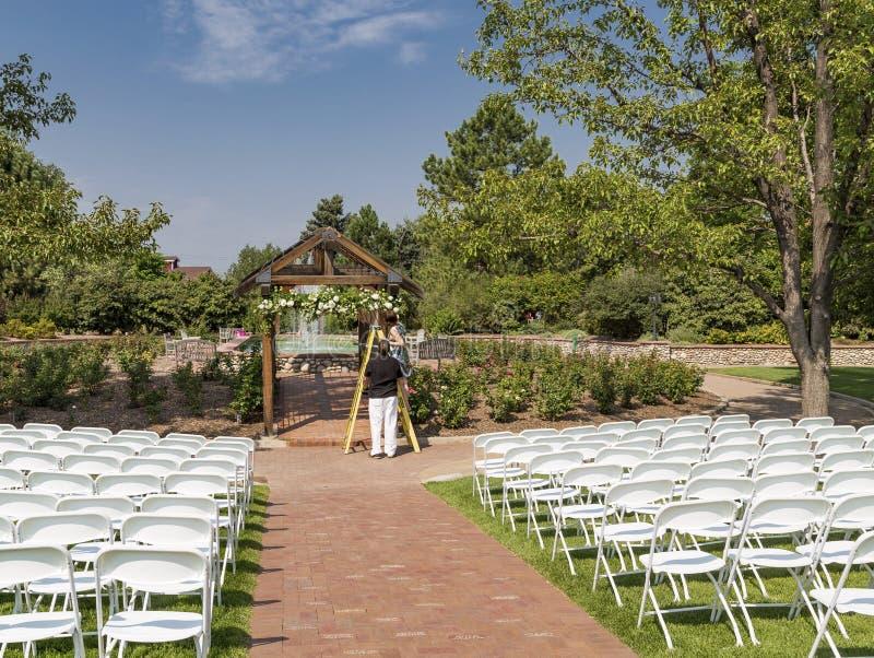 Плановики свадьбы стоковые фотографии rf
