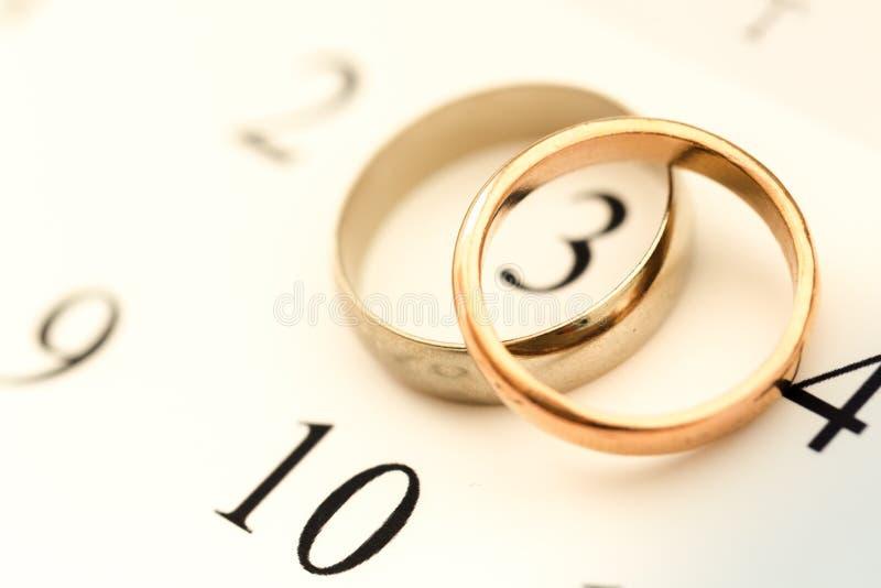 Плановик свадьбы стоковые изображения