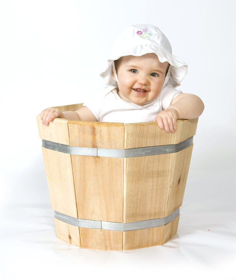 плантатор младенца стоковая фотография
