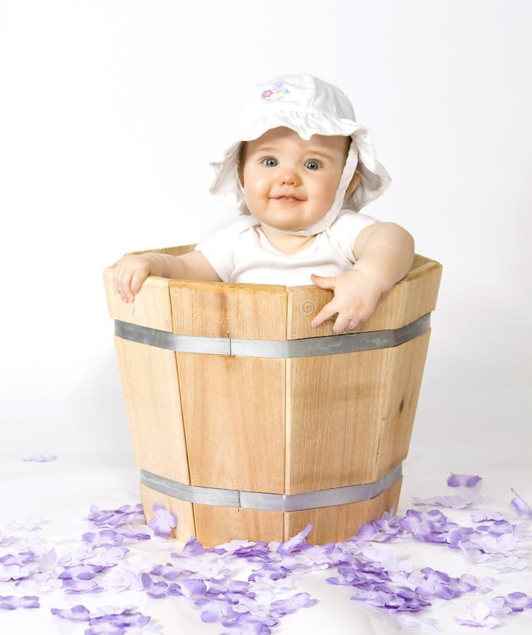 плантатор младенца стоковое изображение