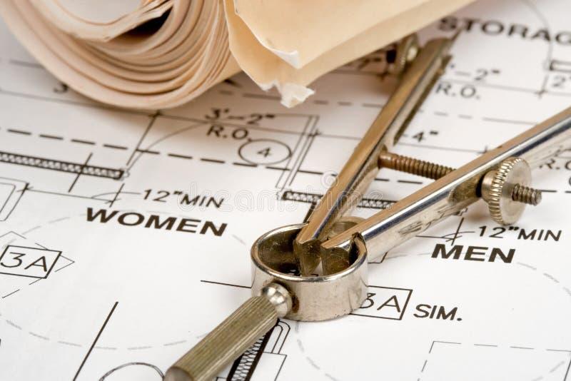планы конструкции стоковые изображения rf