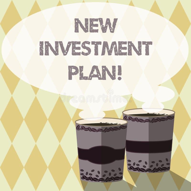 План капиталовложений текста сочинительства слова новый Концепция дела для инвесторов делает регулярные равные оплаты в инвесторс бесплатная иллюстрация