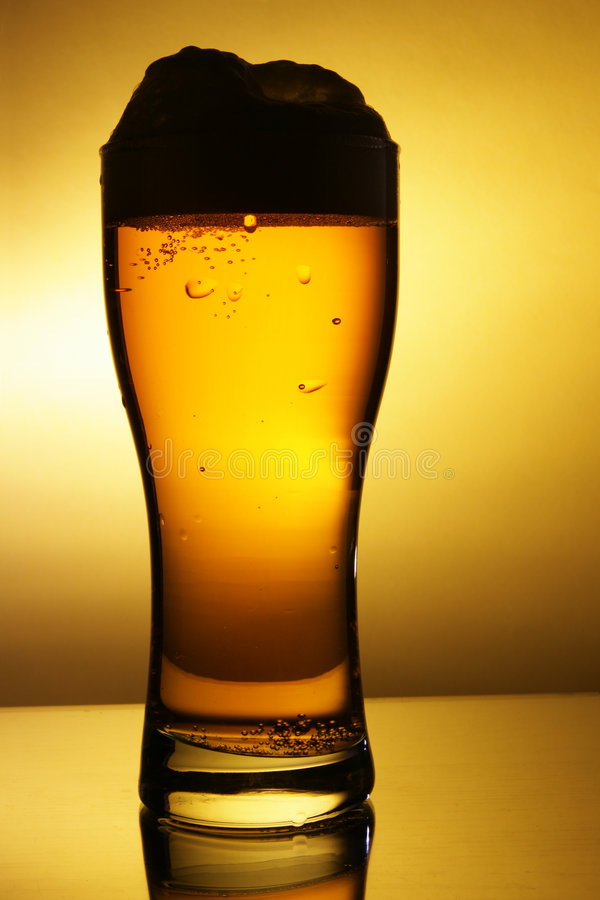 план стекла пива стоковая фотография rf