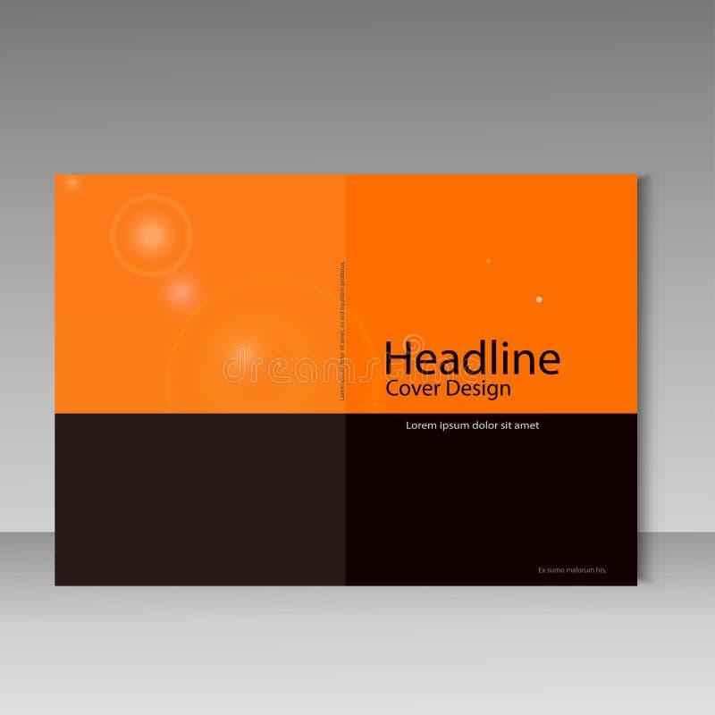 План шаблона брошюры, годовой отчет дизайна крышки, кассета, рогулька, кассета, буклет бесплатная иллюстрация