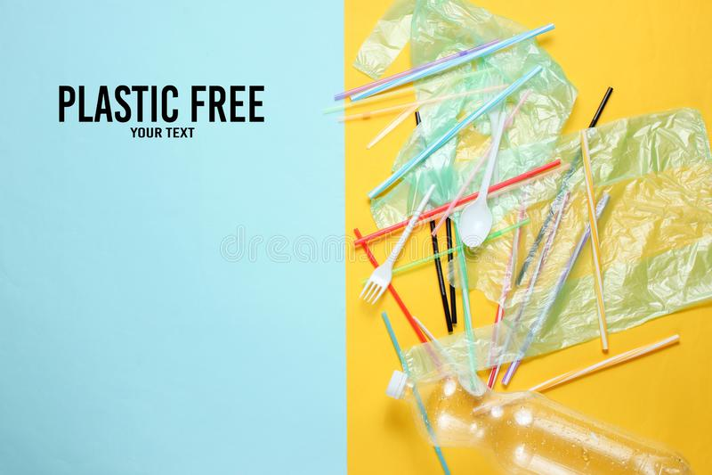 Пластиковый освободите стоковое изображение rf
