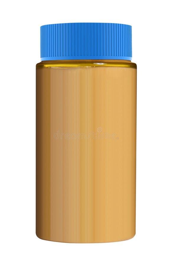 Пластичная косметическая бутылка стоковые изображения rf