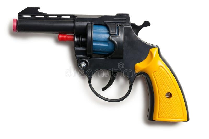 Пластичная пушка игрушки стоковое фото