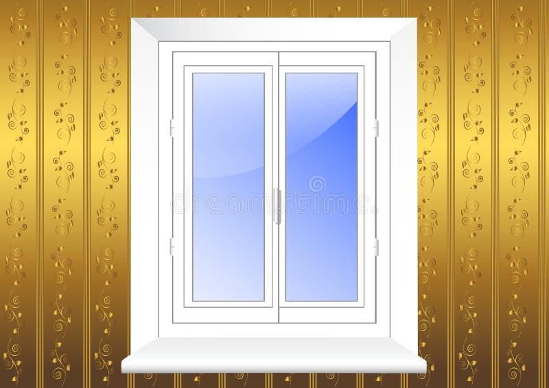 пластичное окно вектора 10eps бесплатная иллюстрация