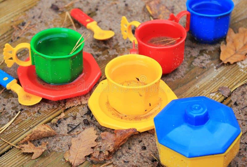 Пластичные игрушки стоковое изображение