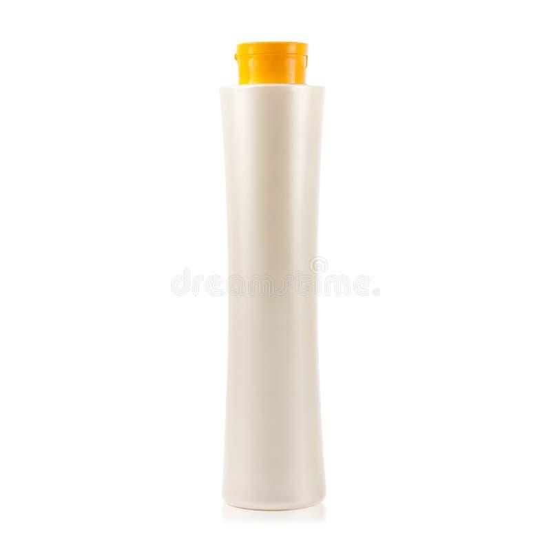 Пластичный шампунь бутылки стоковые фото