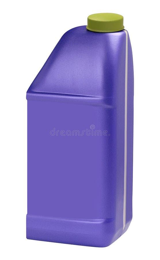 пластмасса автотракторного масла бутылки стоковое изображение
