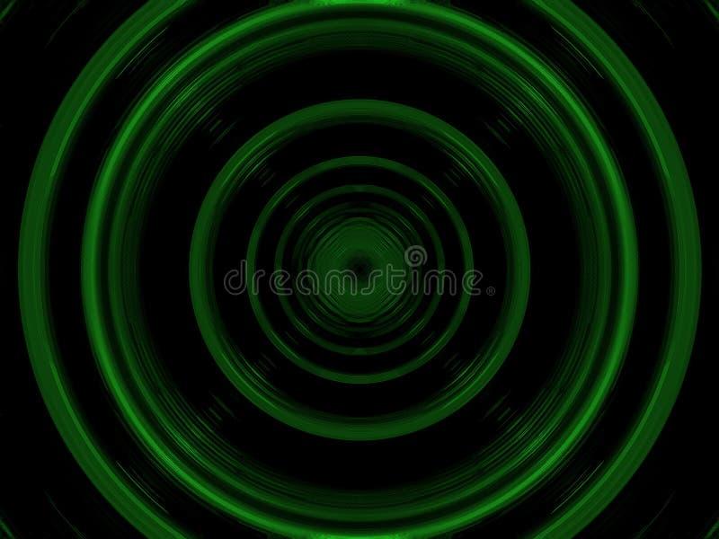 пластмасса кругов зеленая иллюстрация штока
