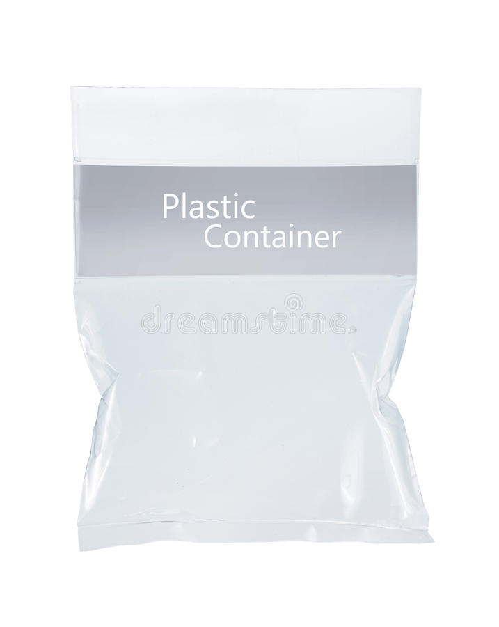 пластмасса пакета прозрачная стоковые фотографии rf
