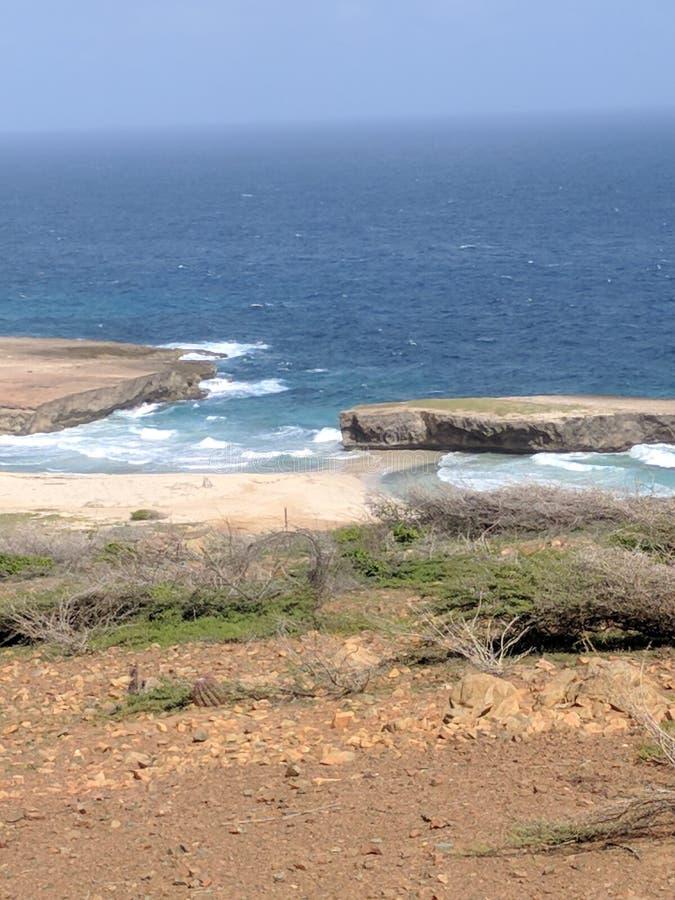 Плато океана стоковое фото rf