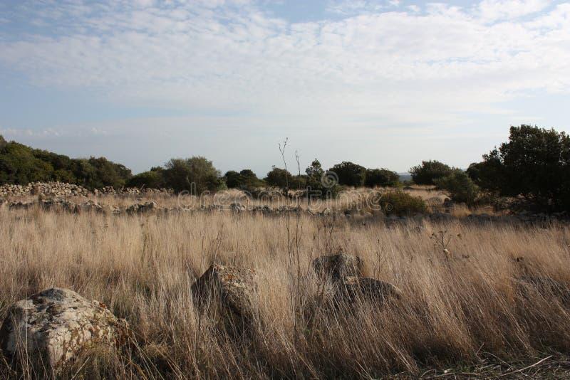 плато sardinian стоковое изображение