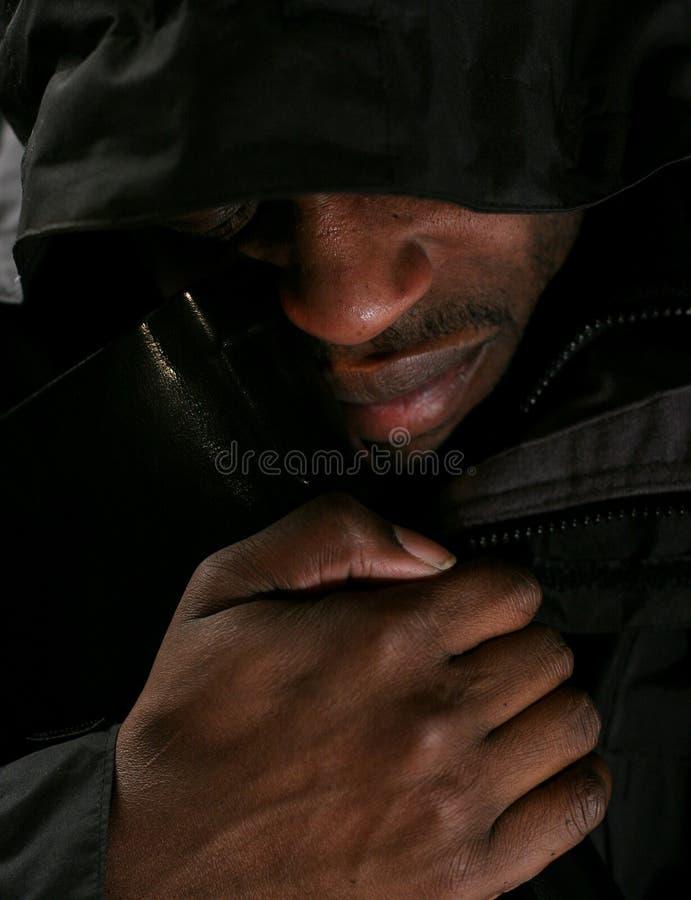 плача человек стоковое изображение rf