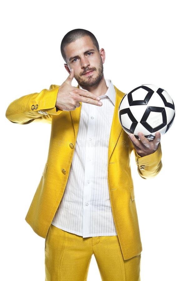 Плашки футбола, изолированные на белой предпосылке стоковая фотография