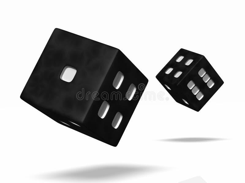 плашки boardgames иллюстрация вектора