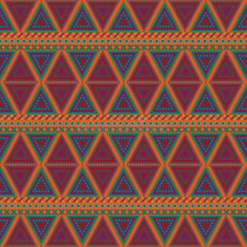 Племенные безшовные картины бесплатная иллюстрация
