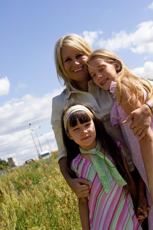 племянницы тетушки стоковые изображения rf