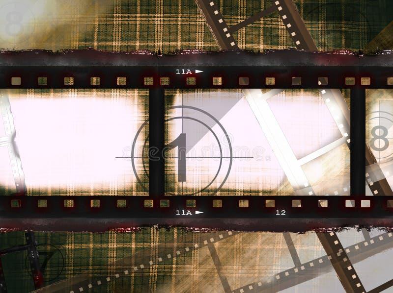 пленка для транспарантной съемки иллюстрация вектора