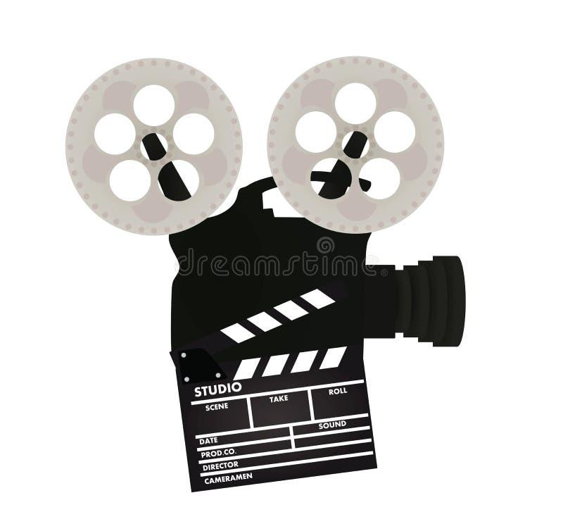 пленка камеры ретро иллюстрация вектора