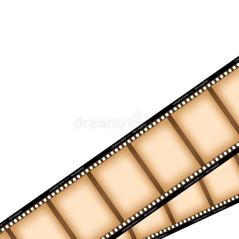 пленка камеры иллюстрация штока