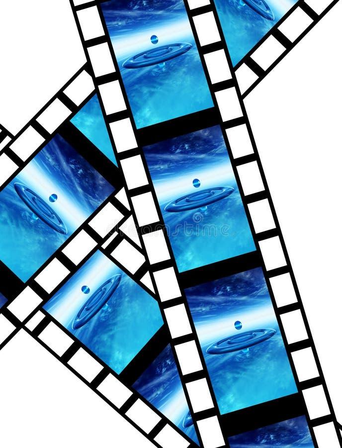 Пленка 14 иллюстрация вектора