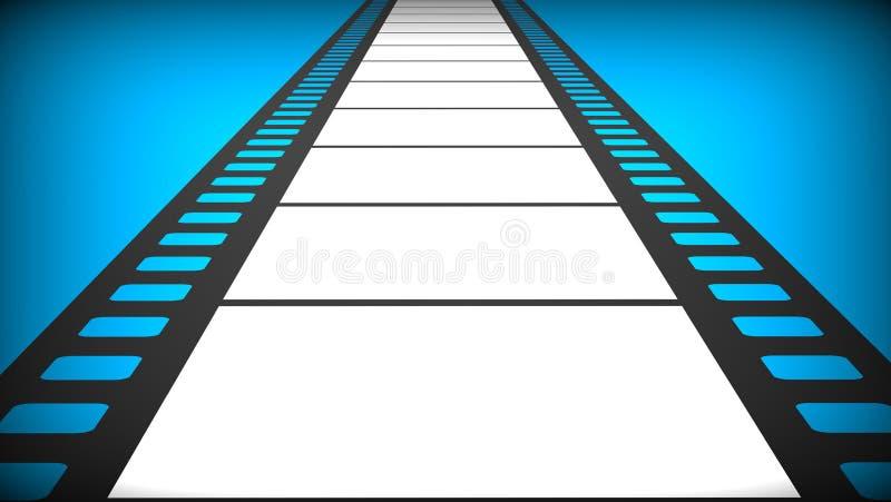 пленка иллюстрация вектора