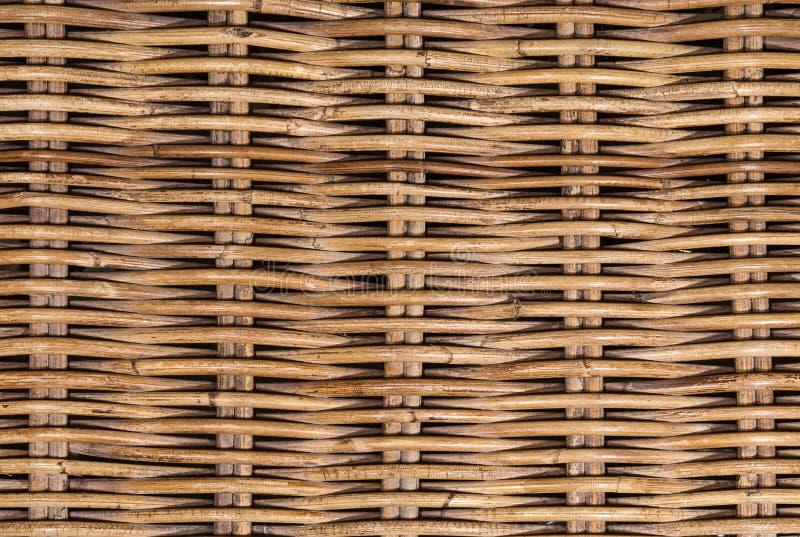 Плетеная текстура ротанга стоковые изображения