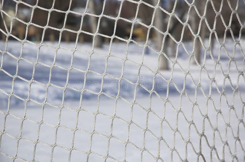 плетение хоккея стоковое изображение