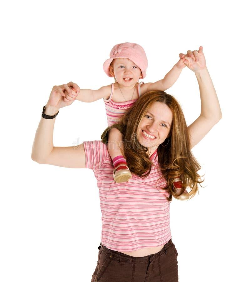 плечи ребенка стоковые фотографии rf