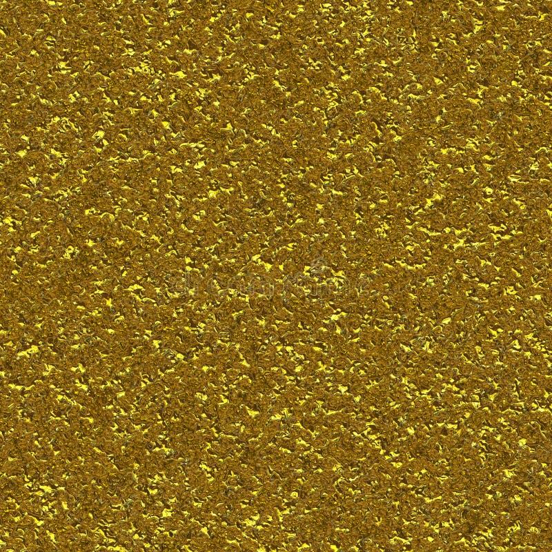 Плиссированная золотая поверхность иллюстрация штока