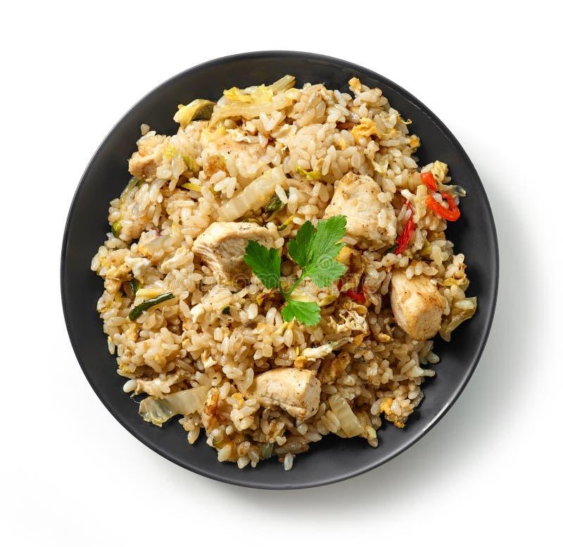 Плита азиатской еды стоковое изображение rf