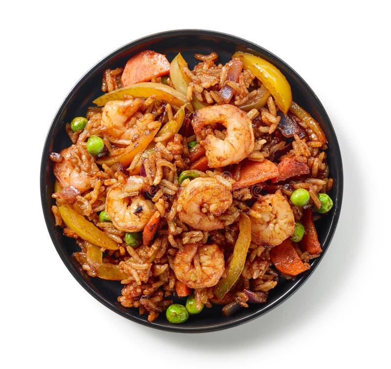 Плита азиатской еды стоковое фото