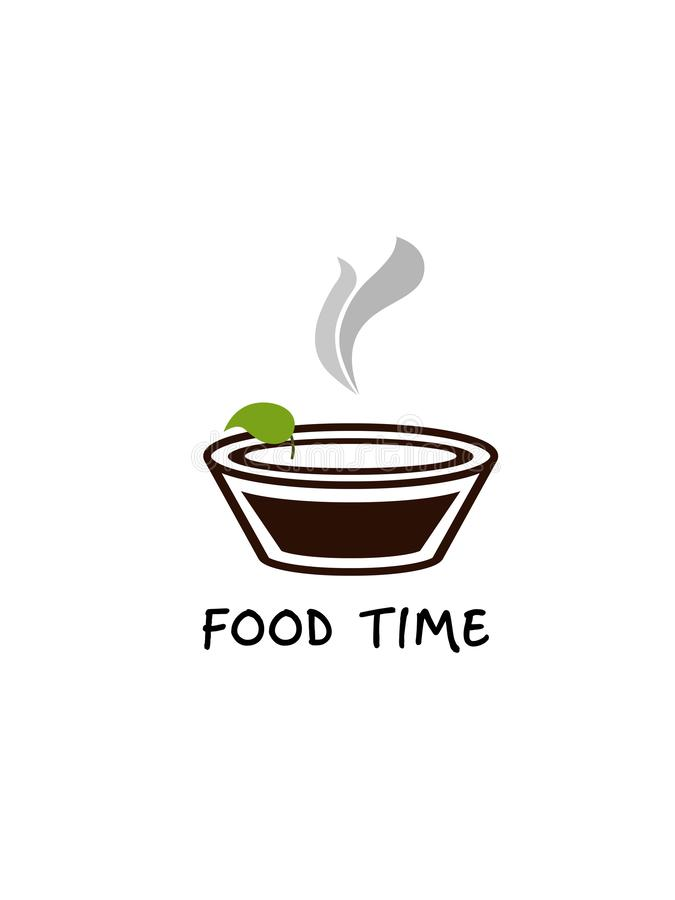 Плита еды на белой предпосылке стоковое фото rf