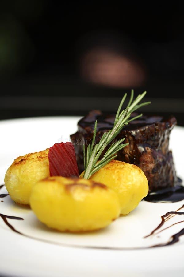 плита еды стоковое изображение rf