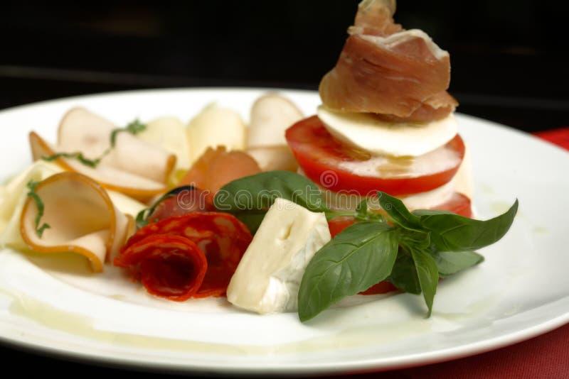 плита еды стоковое изображение