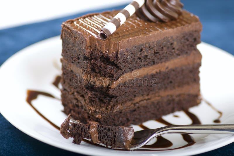 плита лакомки шоколада торта стоковые изображения
