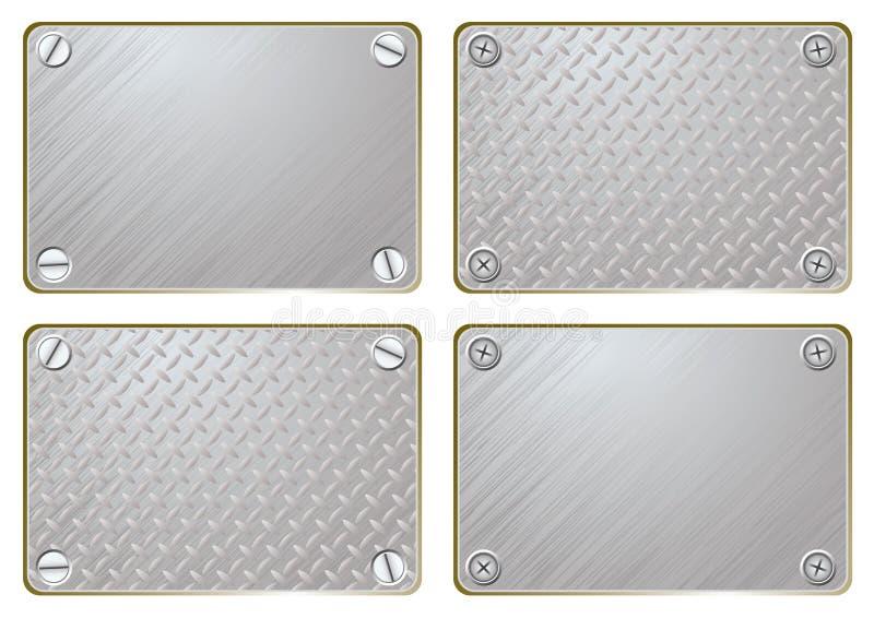 плита металла названная иллюстрация штока