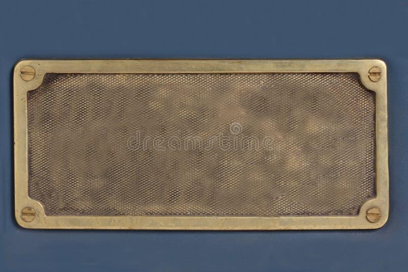 плита металла старая стоковая фотография