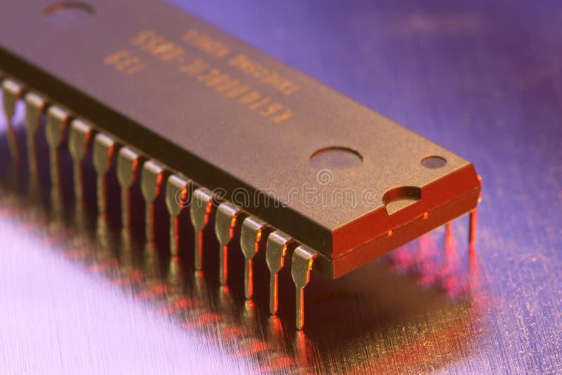 плита микросхемы metall стоковые изображения