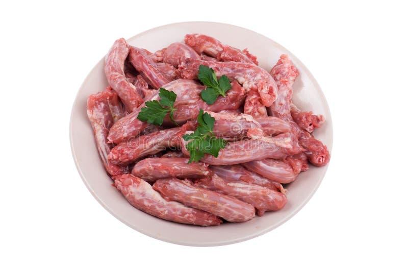 Download плита мяса цыпленка стоковое фото. изображение насчитывающей мясо - 18379130