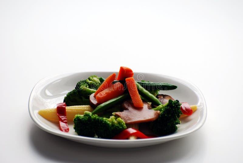 Плита овощей стоковое изображение