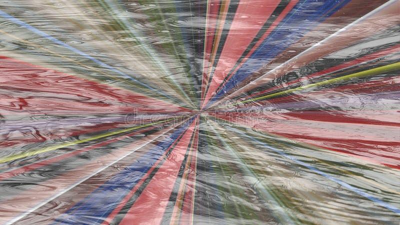 Плитка для bathroom Мраморная предпосылка текстуры картины абстрактная текстурированная предпосылка Хаотическая multicolor картин бесплатная иллюстрация